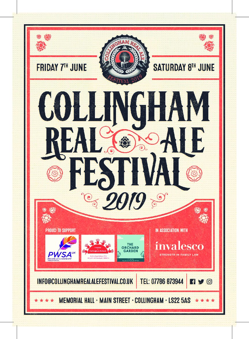 Invalesco supports Collingham Real Ale Festival 2019